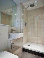 Optycznie powiększona łazienka